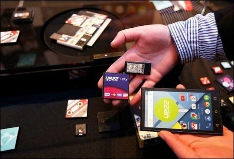 Los móviles modulares de Google aterrizan en el MWC15